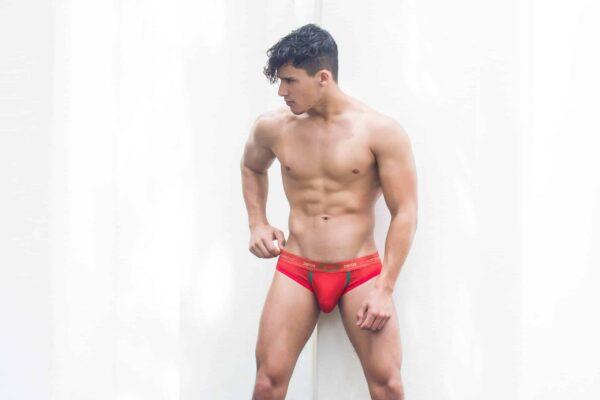 2EROS Aeolus Brief Underwear Red Tempest Rood