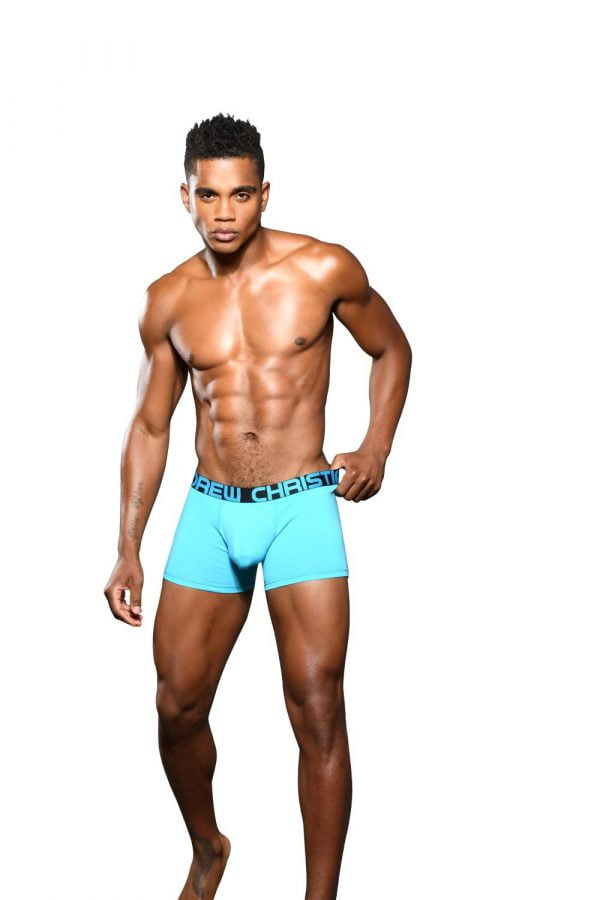 Andrew Christian Almost Naked Bamboo Boxer Blauw