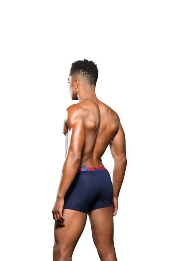 Andrew Christian Almost Naked Bamboo Boxer Navy
