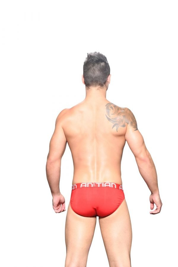 Andrew Christian Almost Naked Bamboo Brief Rood
