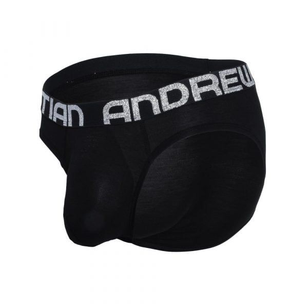 Andrew Christian Almost Naked Bamboo Brief Zwart