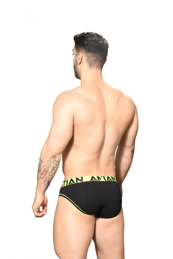Andrew Christian Almost Naked Cotton Brief Zwart