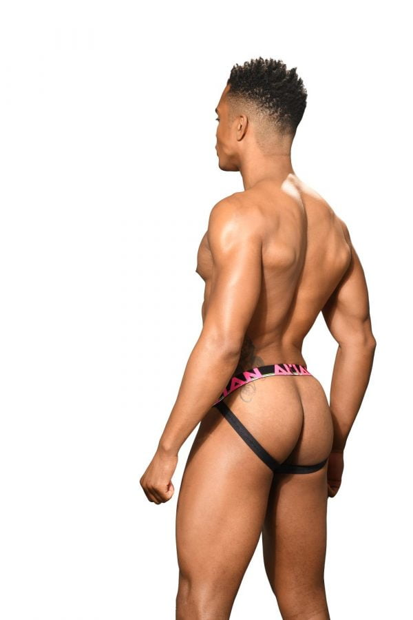 Andrew Christian Almost Naked Cotton Jock Grijs