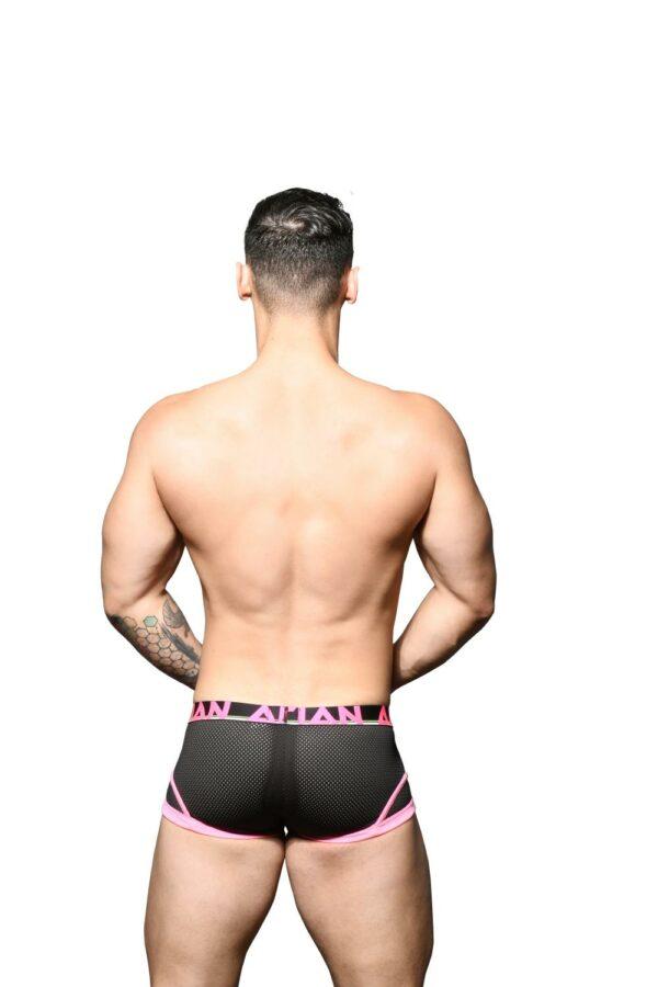 Andrew Christian Almost Naked Retro Mesh Boxer Zwart