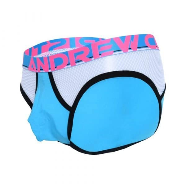 Andrew Christian Almost Naked Retro Net Brief Blauw