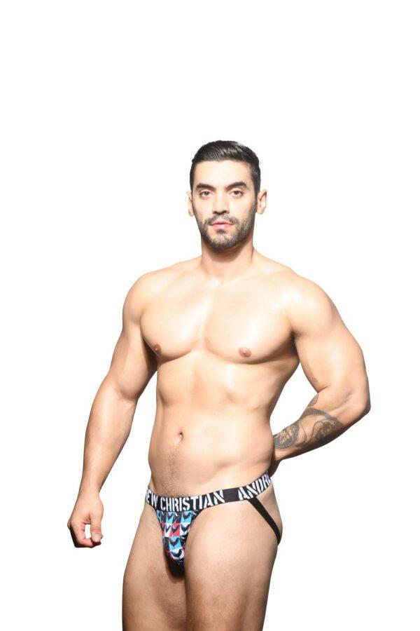 Andrew Christian Cock Jock w/ Almost Naked Zwart