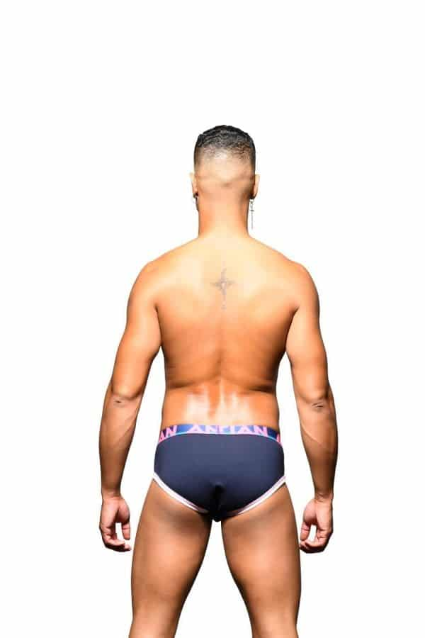 Andrew Christian CoolFlex Active Modal Brief w/ Show-It Navy