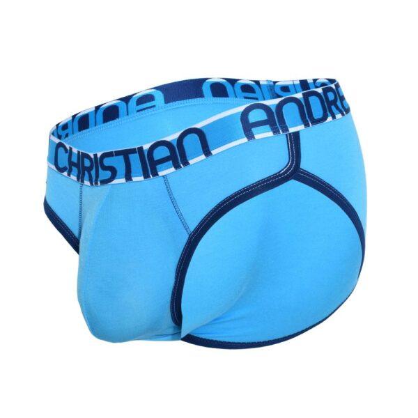 Andrew Christian CoolFlex Modal Brief w/ Show-It Blauw