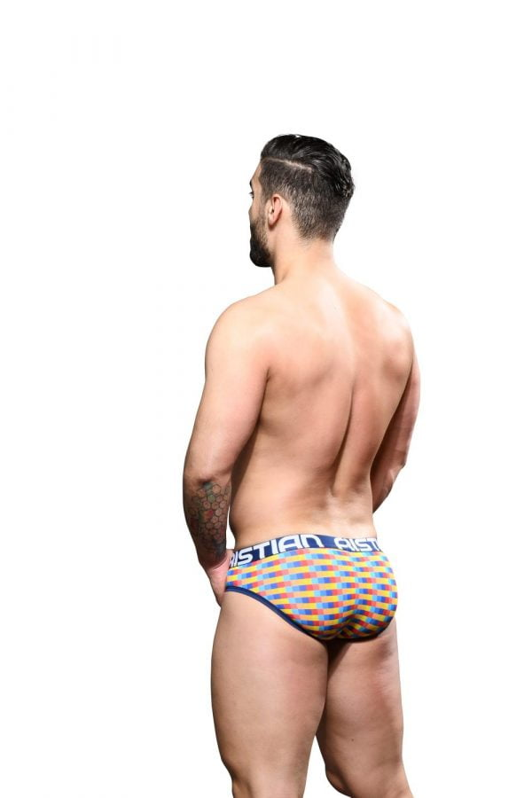Andrew Christian Del Sol Brief w/ Almost Naked Blauw