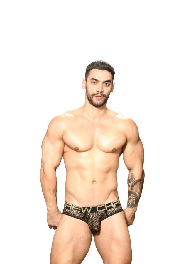 Andrew Christian El Dorado Mesh Brief w/ Almost Naked Zwart