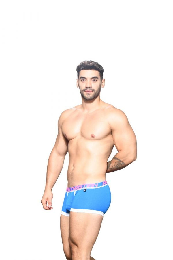 Andrew Christian Fly Tagless Boxer w/ Almost Naked Blauw
