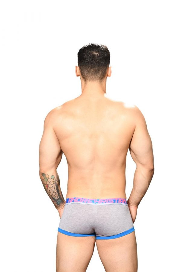 Andrew Christian Fly Tagless Boxer w/ Almost Naked Grijs