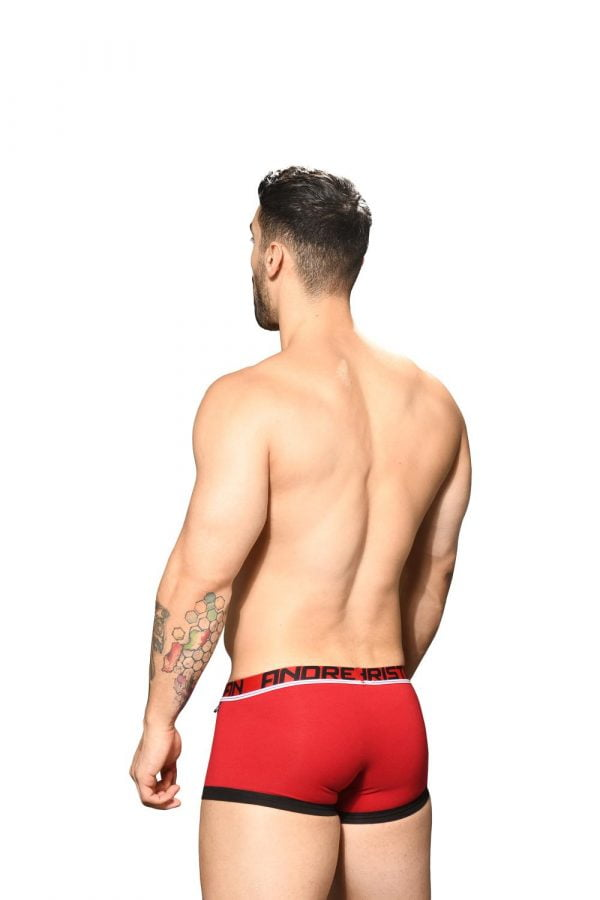 Andrew Christian Fly Tagless Boxer w/ Almost Naked Rood