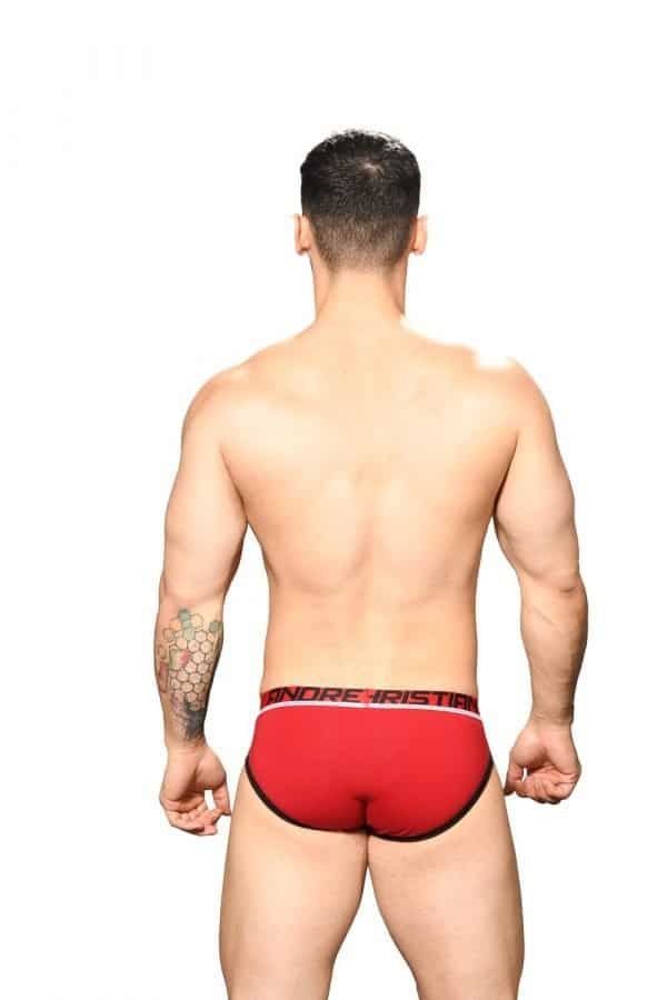 Andrew Christian Fly Tagless Brief w/ Almost Naked Rood