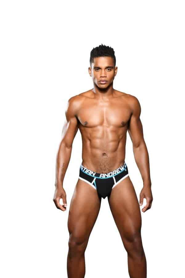 Andrew Christian Fly Tagless Brief w/ Almost Naked Zwart