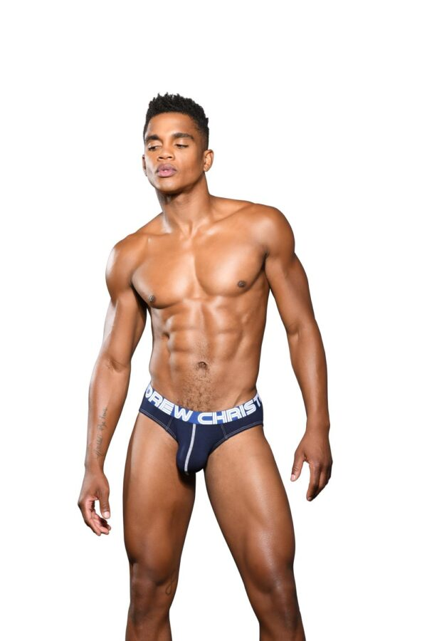 Andrew Christian Happy Brief w/ Almost Naked Navy