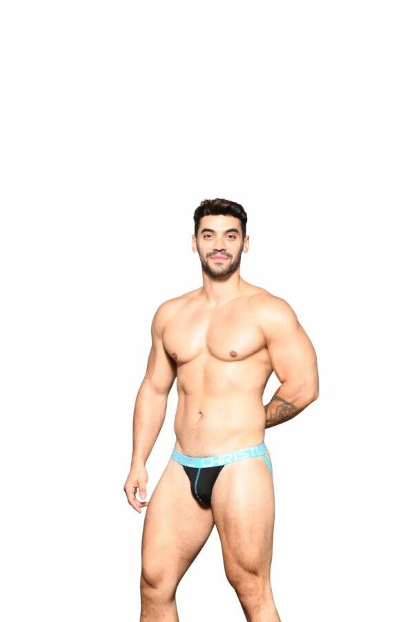 Andrew Christian Happy Jock w/ Almost Naked Zwart