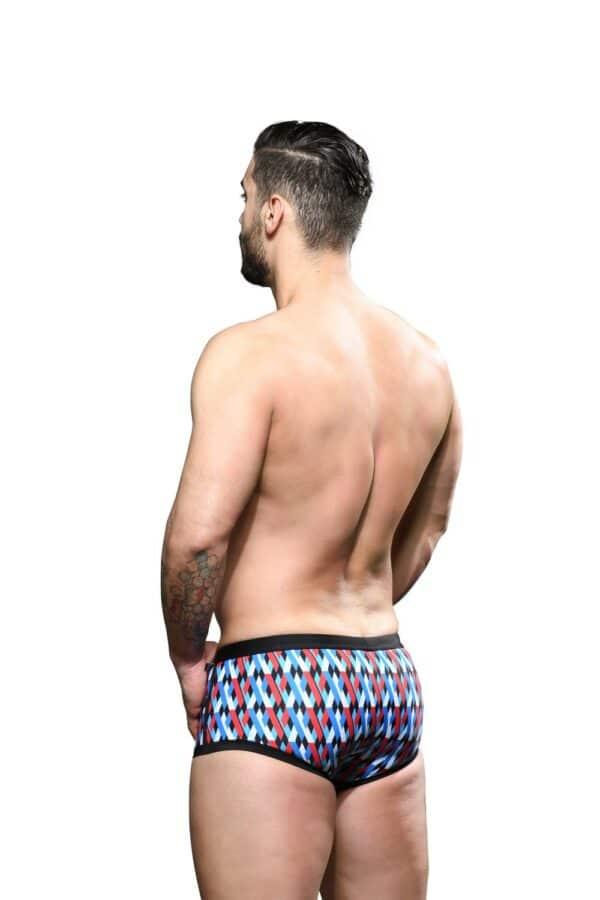 Andrew Christian Holiday Pocket Trunk Zwembroek Zwart
