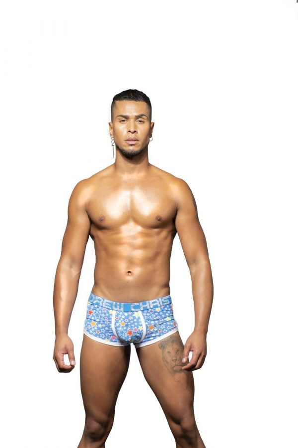 Andrew Christian Pop Stars Boxer w/ Almost Naked Blauw
