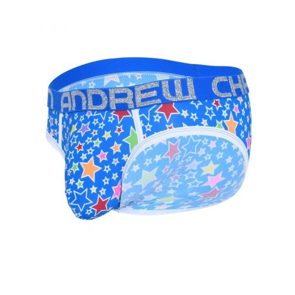 Andrew Christian Pop Stars Brief w/ Almost Naked Blauw