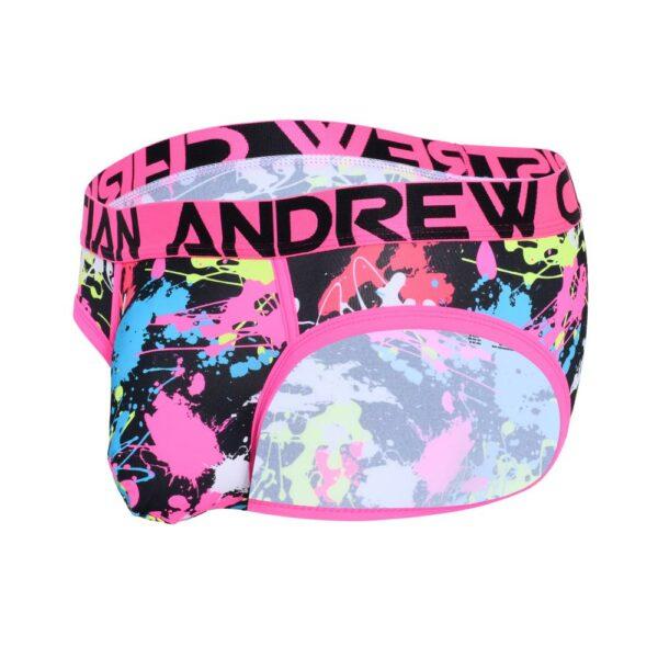 Andrew Christian Splatter Brief w/ Almost Naked Roze