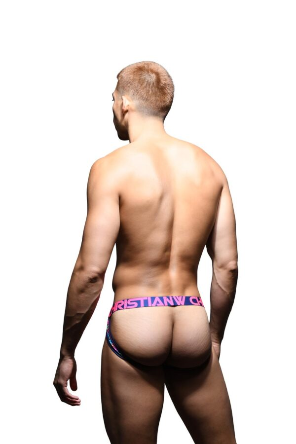 Andrew Christian Static Electricity Comfort Jock w/ Almost Naked Navy