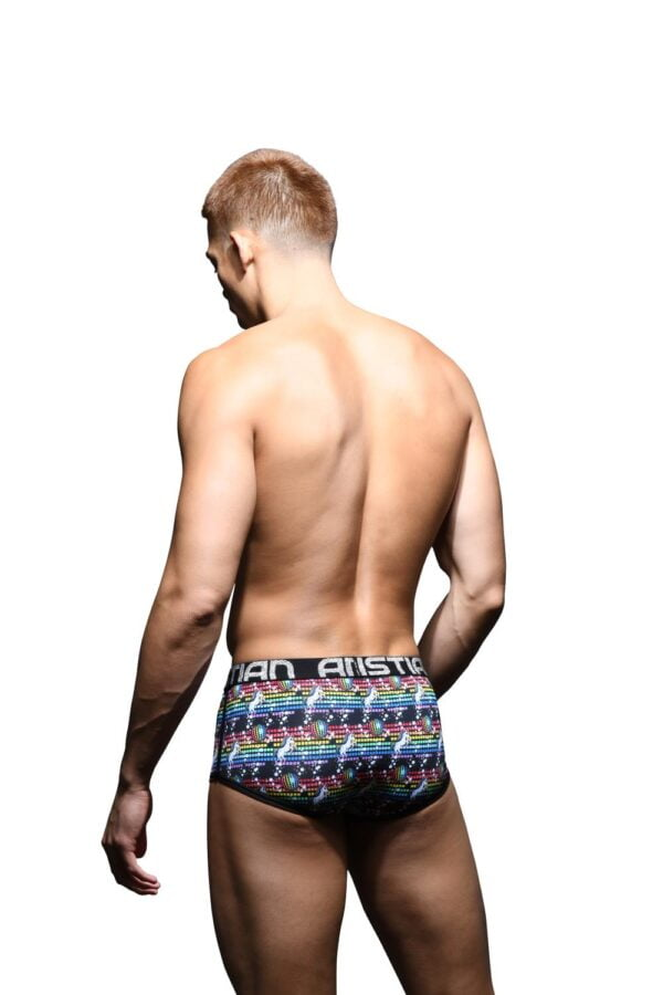 Andrew Christian Ultra Disco Unicorn Boxer w/ Almost Naked Zwart
