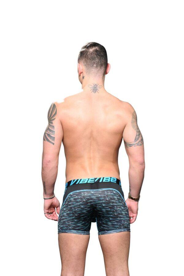 Andrew Christian Vibe Pro Mesh Boxer Blauw