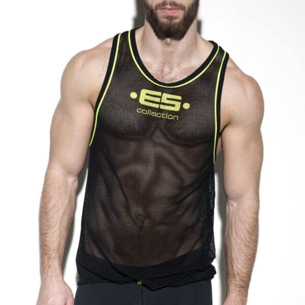 ES Collection Detail Contrast Tank Top