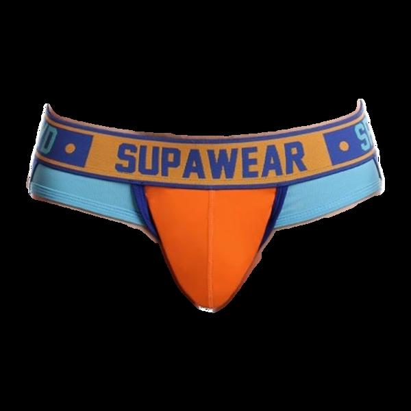 Supawear Blazing Orange Spectrum Jockstrap Oranje
