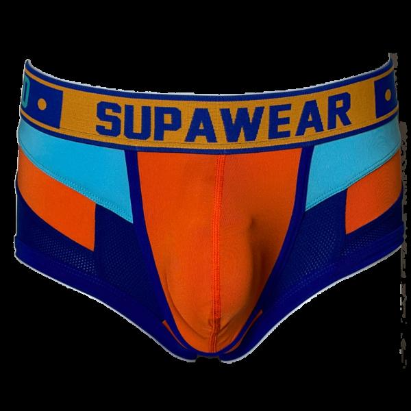 Supawear Blazing Orange Spectrum Trunk Oranje