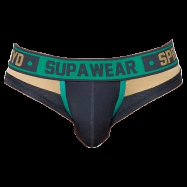 Supawear Cyborg Brief Cyber Groen