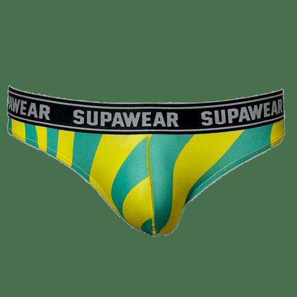 Supawear POW Beast Brief Geel