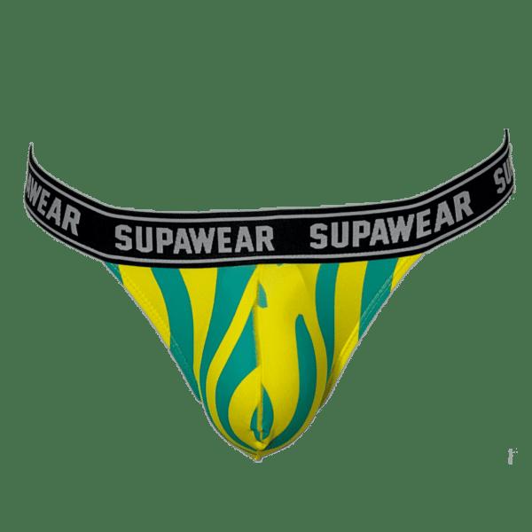 Supawear POW Beast Jockstrap Geel