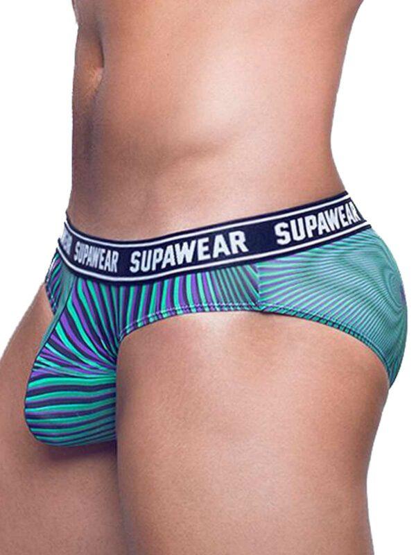 Supawear POW Brief Freaky Green