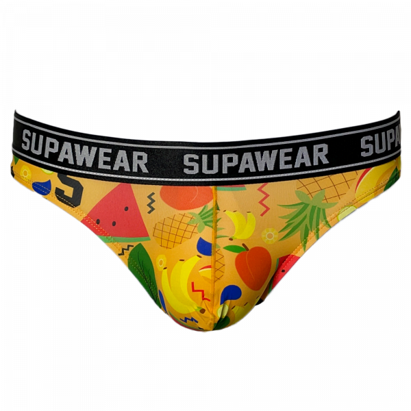 Supawear POW Brief Fruit Punch Geel