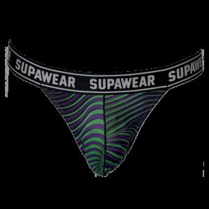 Supawear POW Thong Freaky Green