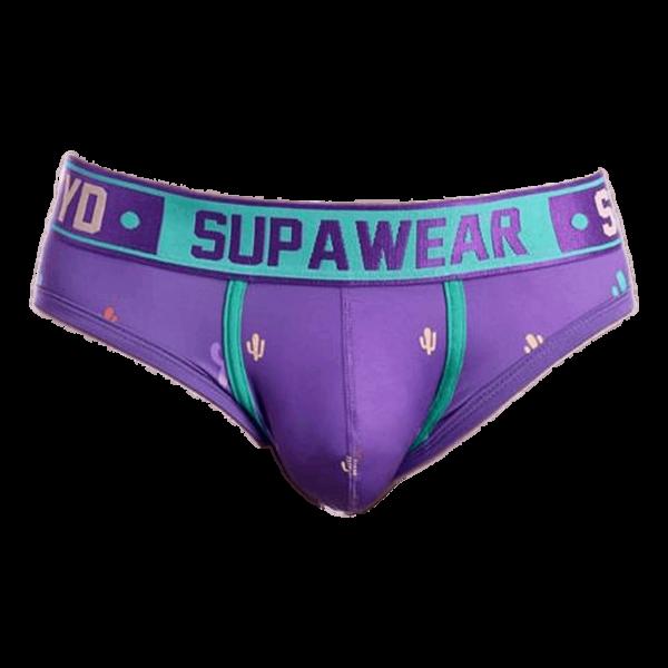 Supawear Prickly Purple Sprint-Cacti Brief Paars