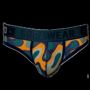 Supawear Sprint Brief Underwear Guerilla Groen