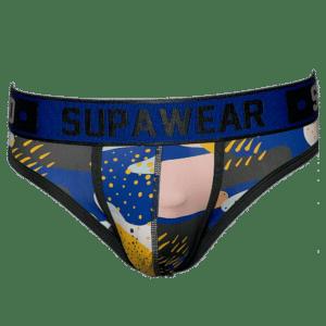 Supawear Sprint Brief Underwear Pop Blauw