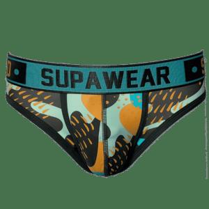 Supawear Sprint Brief Underwear Pop Mint Groen