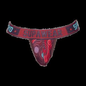 Supawear Sprint Jockstrap Underwear Guerilla Rood