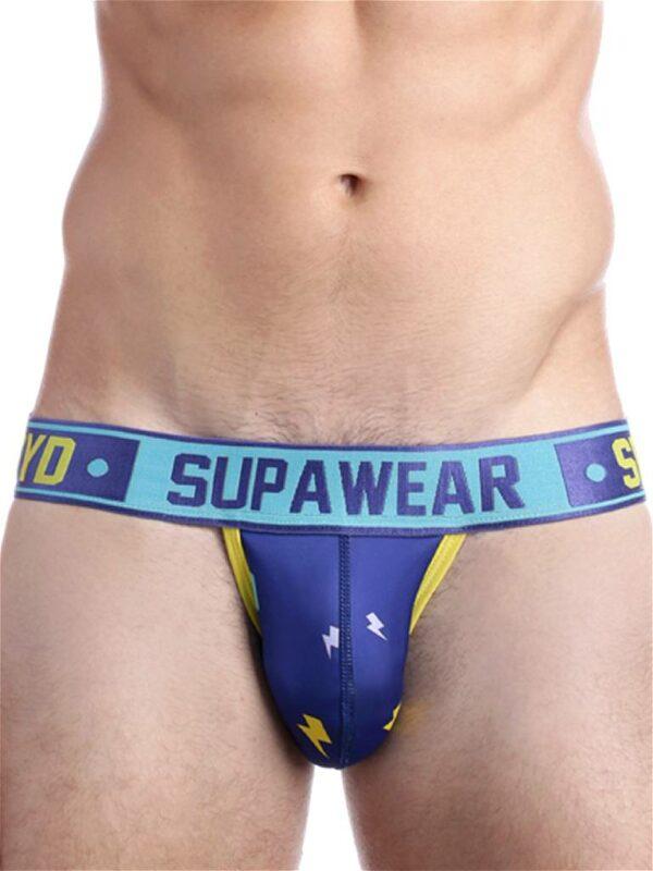 Supawear Sprint Thunda Jockstrap Lightning Blauw
